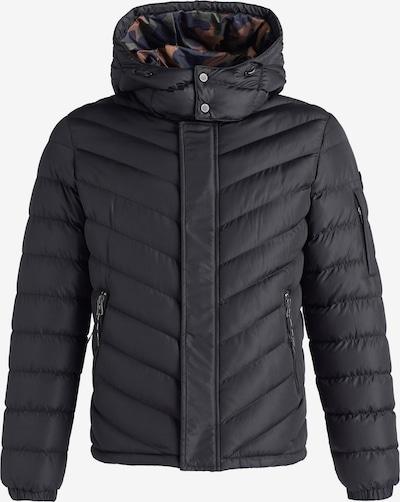khujo Winterjas ' MAURIS ' in de kleur Zwart, Productweergave