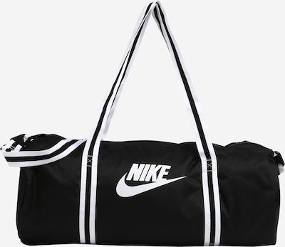 Nike Sportswear Travel Bag 'Nike Heritage' in Black / White, Item view