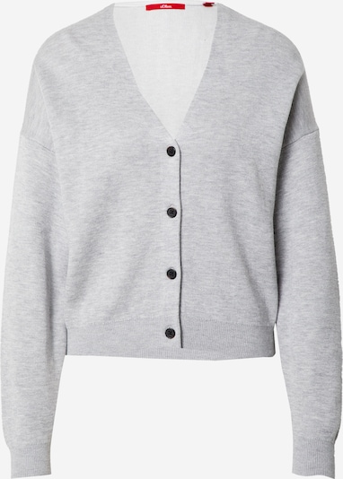 s.Oliver Cardigan en gris clair, Vue avec produit