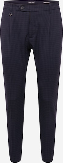 ANTONY MORATO Pleat-front trousers in navy / purple-blue, Item view