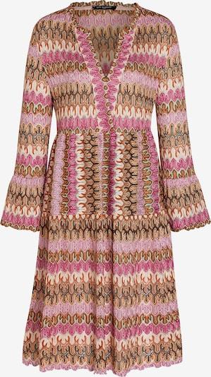 Ana Alcazar Kleid in beige / orange / pink, Produktansicht