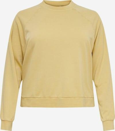 ONLY Carmakoma Sweatshirt in gelb, Produktansicht