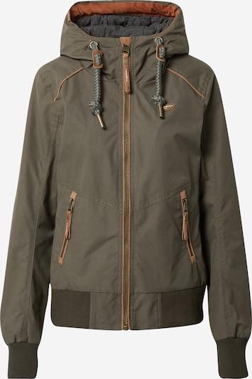 Ragwear Jacke 'Druna' in braun / khaki, Produktansicht