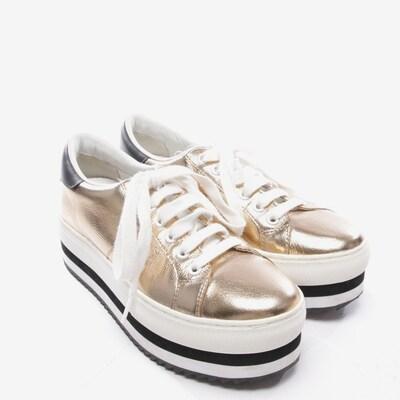 Marc Jacobs Sneaker in 38 in gold / schwarz, Produktansicht