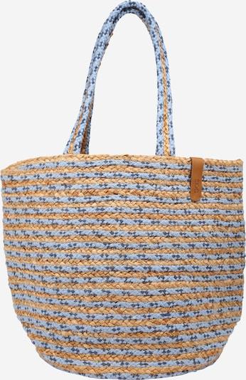 ESPRIT Shopper in sand / blau, Produktansicht