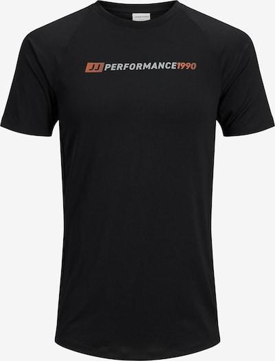 JACK & JONES Shirt in orange / schwarz / weiß, Produktansicht