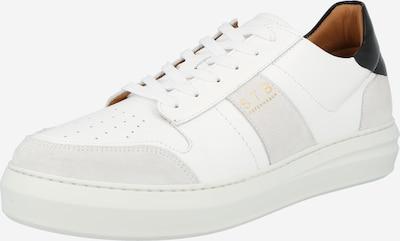 Shoe The Bear Ниски сникърси 'AREN' в светлосиво / черно / бяло: Изглед отпред