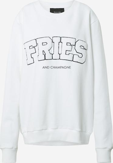 RAIINE Sweat-shirt 'Portia' en blanc, Vue avec produit