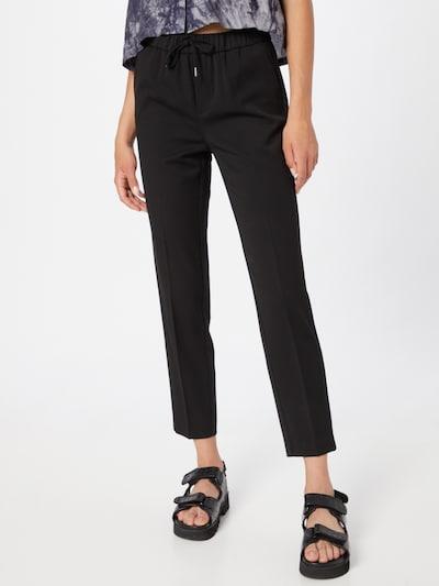 Kelnės su kantu 'MAYA' iš VERO MODA, spalva – juoda, Modelio vaizdas
