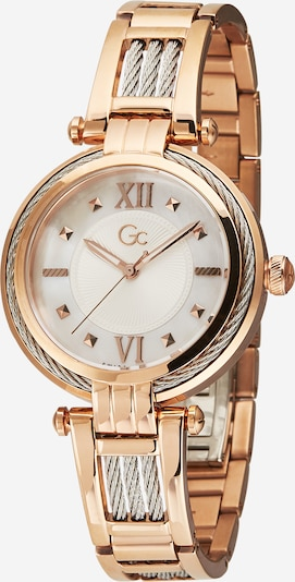 Gc Analog watch 'CableBijou' in rose gold / silver / white, Item view