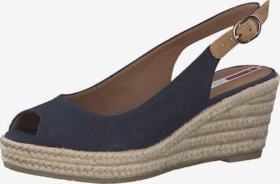 s.Oliver Zapatos destalonado en navy / marrón claro, Vista del producto