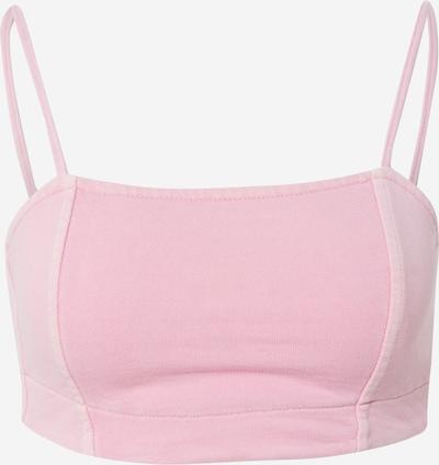 WEEKDAY Top 'Stitch' in de kleur Rosa, Productweergave
