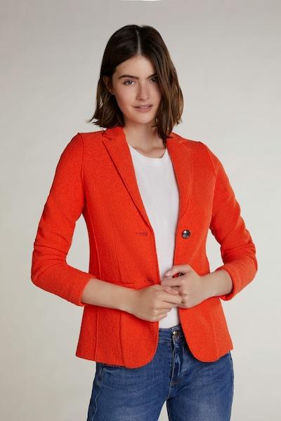 OUI Blazer in orange, Modelansicht