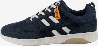 Dockers by Gerli Sneaker in dunkelblau / orange / weiß, Produktansicht