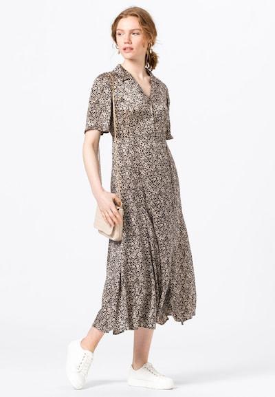 HALLHUBER Blusenkleid in pastellpink / schwarz, Modelansicht