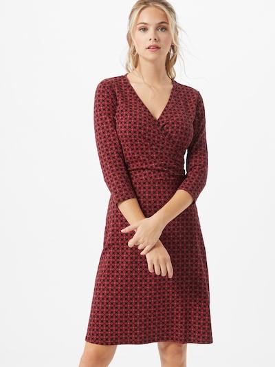 Blutsgeschwister Kleid 'Hunters Darling' in rot / schwarz, Modelansicht