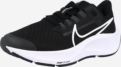 NIKE Спортни обувки 'Pegasus' в черно / бяло, Преглед на продукта