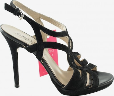 CONLEYS BLUE Sandals & High-Heeled Sandals in 38 in Black, Item view