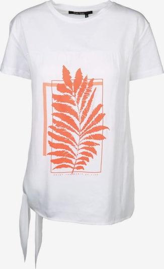 MARC AUREL T-Shirt in orange / weiß, Produktansicht