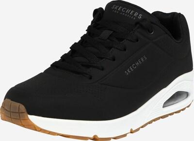 fekete SKECHERS Rövid szárú edzőcipők 'UNO STAND ON AIR', Termék nézet