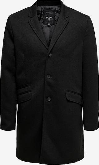 Only & Sons Mantel 'JULIAN' in schwarz, Produktansicht