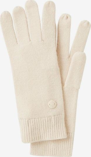 TOM TAILOR Vingerhandschoenen in de kleur Beige, Productweergave