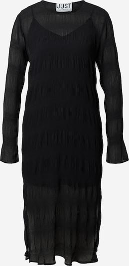 JUST FEMALE Kleid 'Kifi' in schwarz, Produktansicht