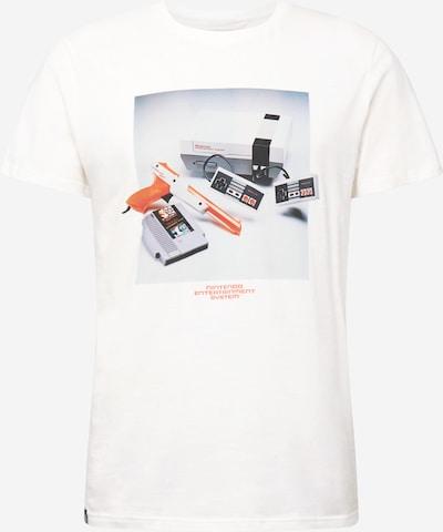 DEDICATED. Majica 'Stockholm NES Consol' u miks boja / bijela, Pregled proizvoda