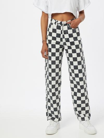 Pimkie Jeans 'NSTHDAM' in schwarz / weiß, Modelansicht