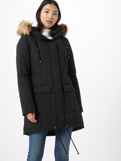 mbym Prijelazna jakna 'Estinna' u crna: Prednji pogled