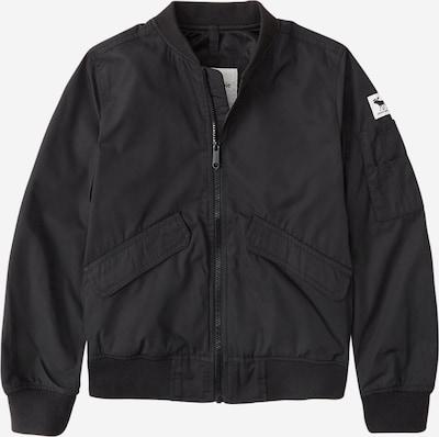Abercrombie & Fitch Přechodná bunda - černá / bílá, Produkt