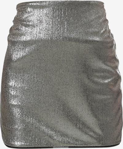 faina Minirock in silber, Produktansicht