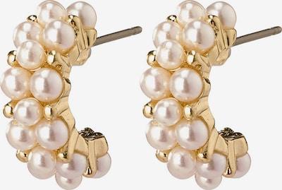 Pilgrim Ohrringe 'Warmth' in gold / perlweiß, Produktansicht