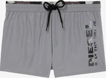 Shorts de bain DIESEL en gris