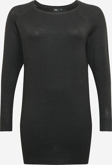 Zizzi Jurk 'CASUNNY' in de kleur Zwart, Productweergave