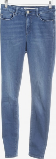 ASOS DESIGN Skinny Jeans in 25-26/32 in rauchblau: Frontalansicht