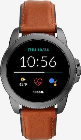 FOSSIL Digital Watch in Brown