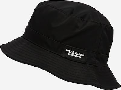 Pălărie River Island pe negru, Vizualizare produs