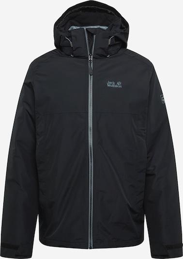 JACK WOLFSKIN Outdoorjacke 'NORTH FJORD JKT M' in schwarz, Produktansicht