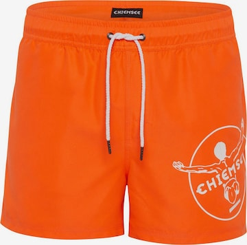 Maillot de bain de sport CHIEMSEE en orange