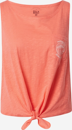 BILLABONG Top 'SUMMER ONLY' in de kleur Oranje gemêleerd / Wit gemêleerd, Productweergave