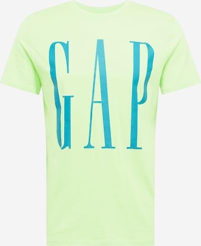 Tricou GAP pe turcoaz / verde limetă, Vizualizare produs