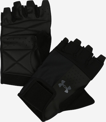 Gants de sport UNDER ARMOUR en noir