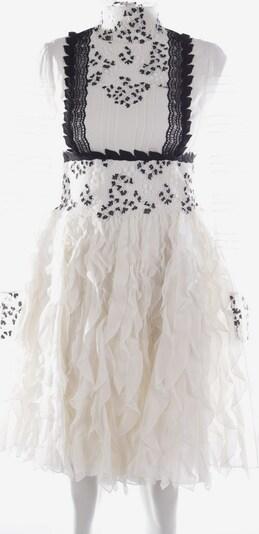 Giambattista Valli Seidenkleid in S in schwarz / weiß, Produktansicht