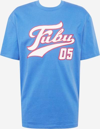 FUBU Funkcionalna majica 'Varsity' | nebeško modra / malina / bela barva, Prikaz izdelka