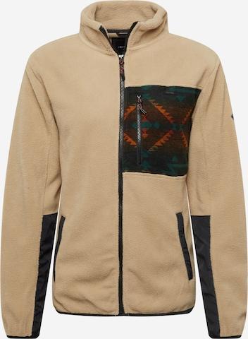 Iriedaily Fleece jacket in Green