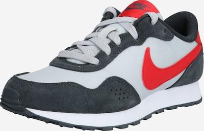 Nike Sportswear Baskets 'VALIANT' en gris foncé / rouge / blanc, Vue avec produit