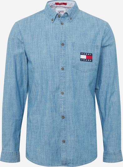 Tommy Jeans Košulja u plavi traper, Pregled proizvoda