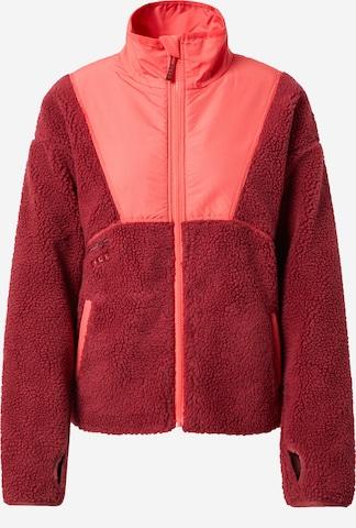 Jachetă  fleece funcțională 'UNFORGETTABLE LANDSCAPES' de la ROXY pe roșu