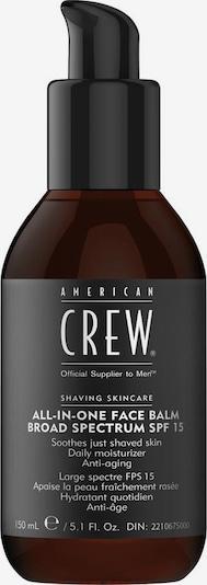 American Crew Tagcreme  'All-In-One Face Balm Broad Spectrum SPF 15' in cognac / schwarz / weiß, Produktansicht